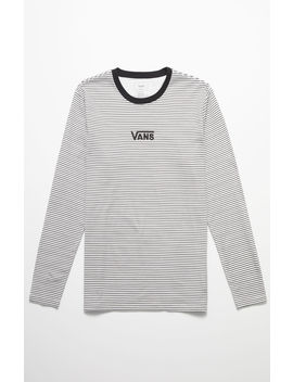 Vans Drop V Stripe Long Sleeve T Shirt by Pacsun