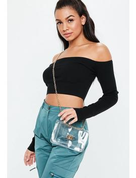 Clear Transparent Cross Body Bag by Missguided