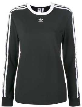 3 Stripes Fitted Sweatshirt by Adidas