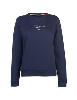 Clean Logo Sweatshirt by Tommy Jeans