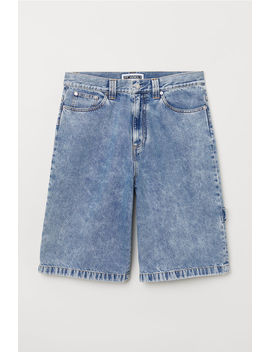 Loose Fit Jeansshorts by H&M