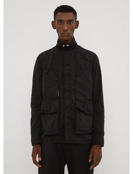 Technical Panel Pocket Jacket In Black by 1017 Alyx 9 Sm