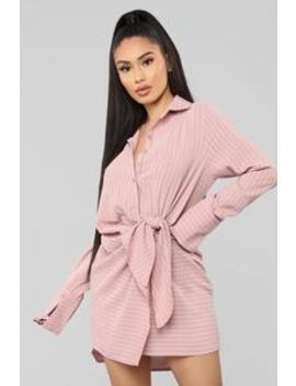 Powerful Feelings Shirt Dress   Pink by Fashion Nova