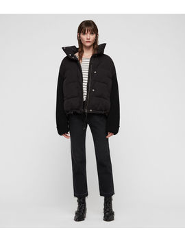 Ines Knit Puffer Coat by Allsaints