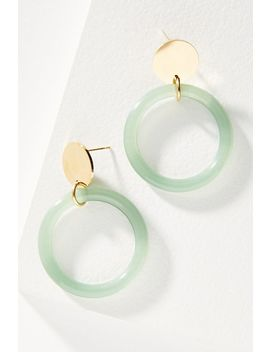 Sakii Hooped Post Earrings by Amber Sceats