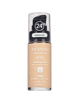 Revlon Color Stay Liquid Foundation For Normal/Dry Skin,Sand Beige, 1 Fl Oz by Revlon