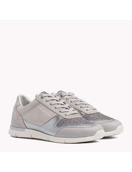Lightweight Sparkle Trainers by Tommy Hilfiger
