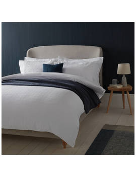 Croft Collection Lorna Bedding, White by Croft Collection