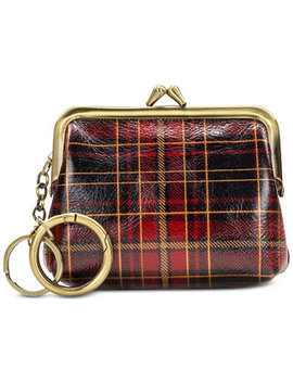 Tartan Plaid Borse Coin Purse by Patricia Nash