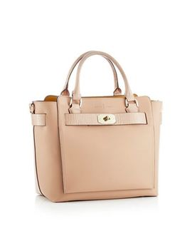 J By Jasper Conran   Natural Belted Faux Leather 'fitzrovia' Grab Bag by J By Jasper Conran