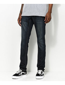 Empyre Recoil Nemo Dark Blue Super Skinny Jeans by Empyre