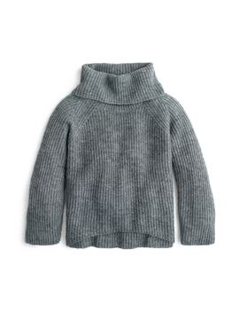 Ribbed Turtleneck Sweater by J. Crew