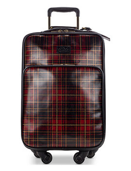 Tartan Plaid Vettore Duffel by Patricia Nash