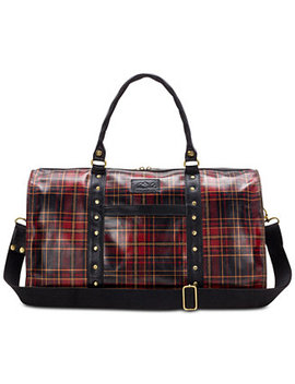 Tartan Plaid Mariani Weekender Duffel by Patricia Nash