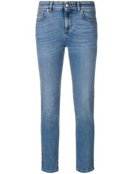 Cropped Skinny Jeans by Alexander Mc Queen