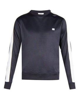 Bi Colour Crew Neck Sweatshirt by Ami