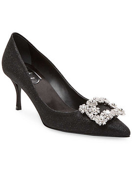 Roger Vivier Brooch Toe Pump by Roger Vivier