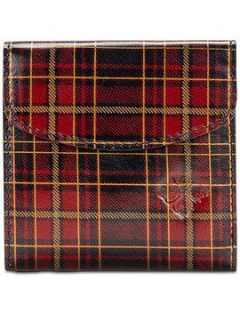 Reiti Tartan Plaid Leather Trifold Wallet by Patricia Nash