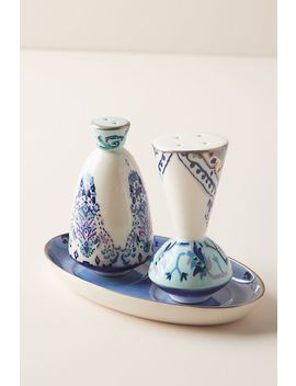 Lilia Salt & Pepper Shakers by Anthropologie