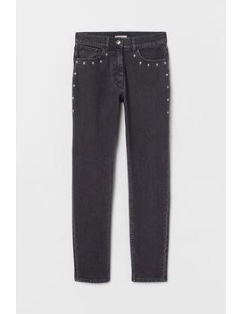 Jeans Mit Stickerei by H&M