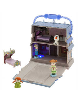Disney Animators' Little Collection Arendelle Castle Surprise Feature Playset   Frozen by Disney