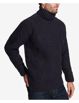 Men's Chunky Knit Turtleneck Sweater by Weatherproof Vintage