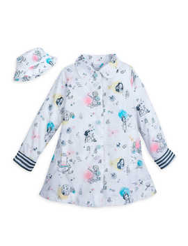 Disney Animators' Collection Rain Jacket And Hat For Kids by Disney
