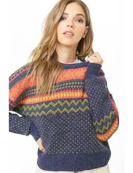 Fair Isle Sweater by Forever 21