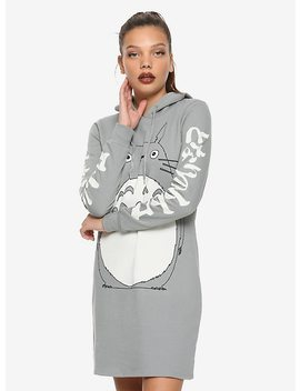 Studio Ghibli My Neighbor Totoro Hoodie Dress by Hot Topic