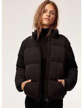 Park City Puffer   Water Repellent, Goose Down Puffer Jacket by The Group By Babaton