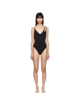 Black Jamie Swimsuit by Araks