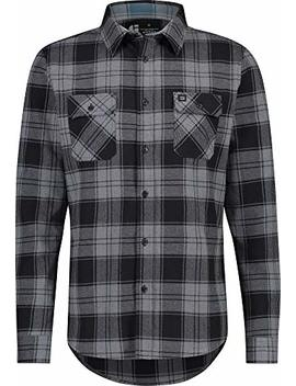Jolt Gear Dry Fit Flannel Shirt For Men   Long Sleeve Plaid Flannels With Stretch Fabric by Jolt Gear