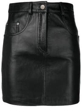 Straight Mini Skirt by Manokhi