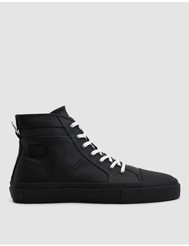 Issue No. 001 Sneaker In Black by No.Liste