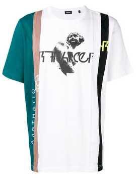 Colour Block T Shirt by Diesel