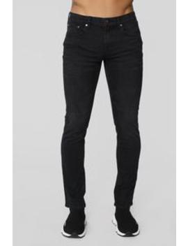 Graham Slim Jeans   Black by Fashion Nova