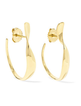 Classico Small 18 Karat Gold Hoop Earrings by Ippolita
