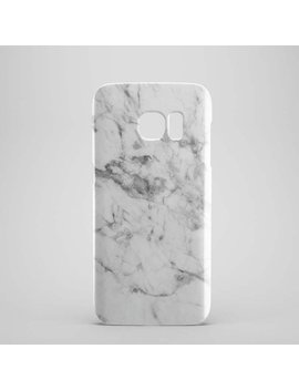 White Marble Phone Case For Samsung Galaxy S6, Samsung Galaxy S7, Samsung Galaxy S5, Samsung Galaxy S7 Edge Case, Phone Cases, S6 Edge by Etsy
