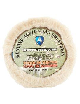 Aegis Cover Genuine Australian Sheepskin Steering Wheel Cover by Aegis Cover