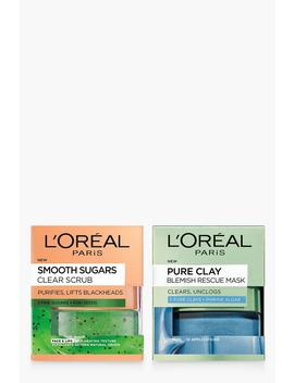 Loreal Blackhead Rescue Skincare Kit by Boohoo