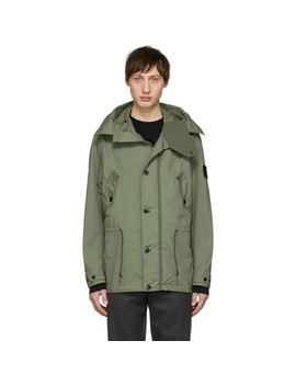 Green David Tc Coat by Stone Island