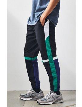 Pac Sun '90s Colorblock Nylon Track Pants by Pacsun