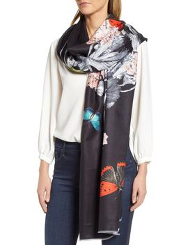 Narnia Satin Scarf by Ted Baker London