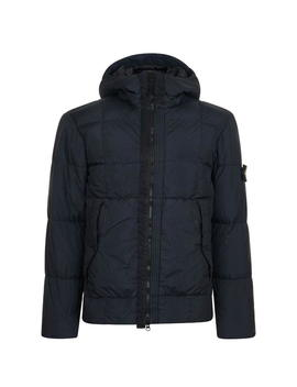 Crinkle Padded Coat by Stone Island