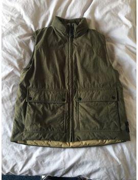 Stone Island Nylon Down Green Gilet Vest Jacket by Ebay Seller