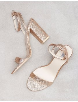 Brilliant Block Heel Sandal by Nly Shoes