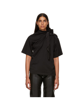 Black Scarf T Shirt by Y/Project