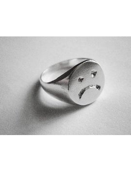 Grumpy Ring   Unisex   Sterling Silver by Etsy