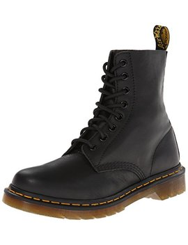 Dr. Martens Damen Pascal Virginia Black Combat Boots by