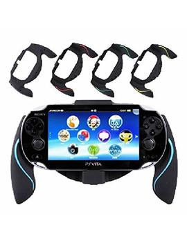 Aweek® Bracket Handgrip Handle Grip Case For Playstation Vita 1000 Ps Vita Ps Vita   Blue by Aweek